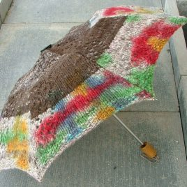 Graffiti Umbrella – Knitted