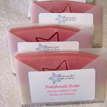 Patchouli Rose – 70g