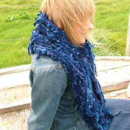 Blue Seaweed Shrug