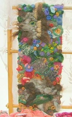 An Orkney Garden – Wallhanging