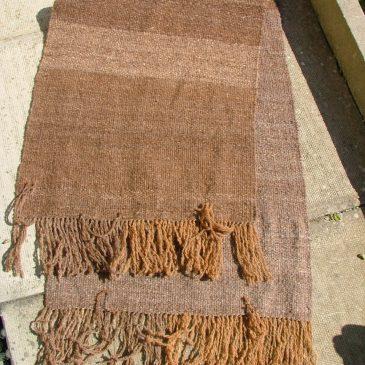 Rustic Shetland Throw