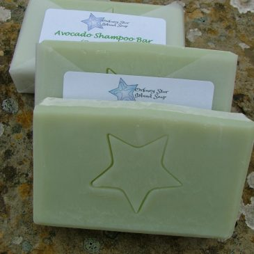 Avocado Shampoo Bar 80g