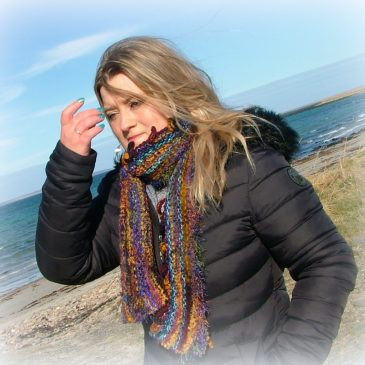 Sunset Tide – Scarf